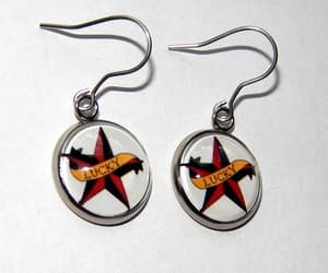 etsy, gift for her, and western earrings image