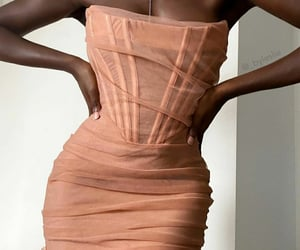 bustier, dress, and outfit image