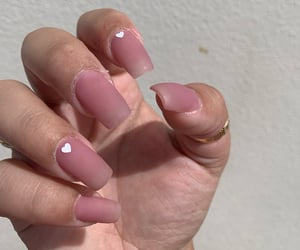 nails, ombre nails, and pink nails image