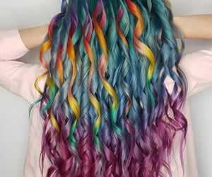 beauty, hair, and colors image