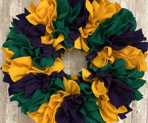 etsy, floral wreath, and wreath front door image