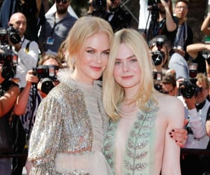 Elle Fanning and Nicole Kidman image