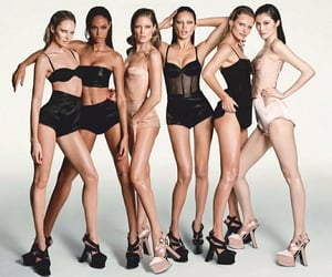 Adriana Lima, black, and high heels image
