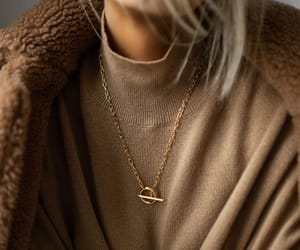 blogger, necklace, and fallfashion image