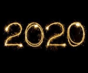 2020, happynewyear, and newyear image