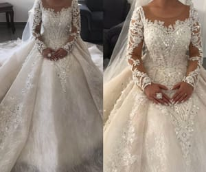 wedding gowns, wedding,wedding dress, and bridal gowns image