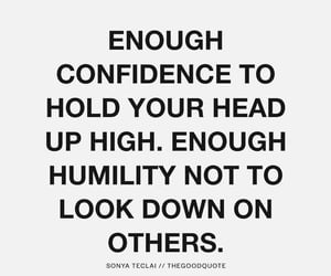confidence, arrogance, and kindness image