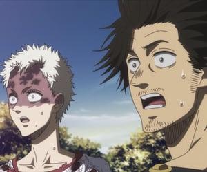 anime boy, golden dawn, and black clover image