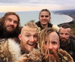 vikings, cast, and alexander ludwig image