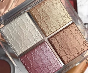 eyeshadow, palette, and beauty image