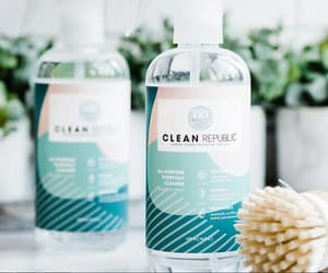 organic spa cleaner. image