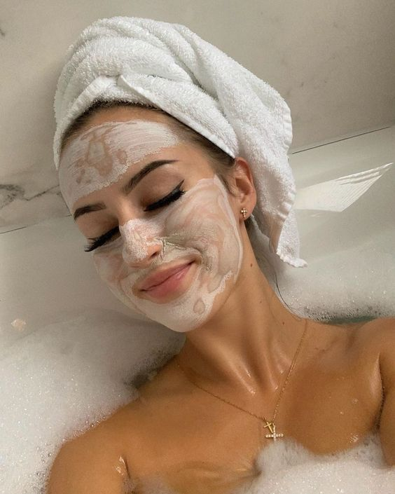 beauty, face, and mask image