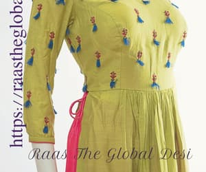 ethnic, gown, and handcrafted image