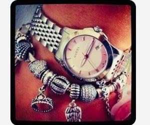 bracelets, gucci, and pandora image
