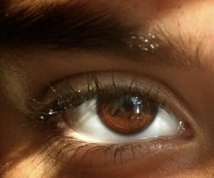 aesthetic, brown eyes, and harry potter image