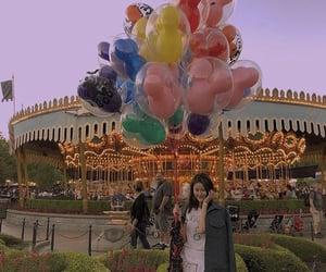 baloons, disneyland, and photo image