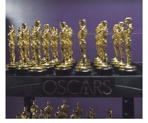 awards, los angeles, and statues image