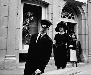 Balenciaga, black and white, and chic image