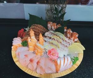 japanese, salmon, and shrimp image
