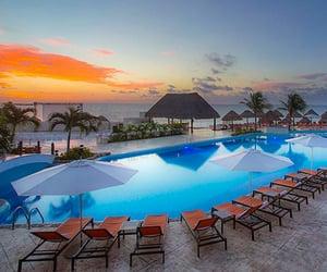 Caribbean, mexico, and beach vacation image