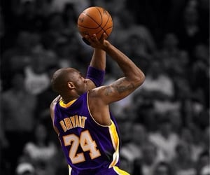 24, Basketball, and kobe bryant image