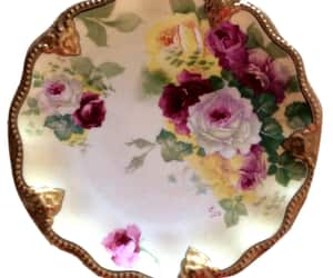 etsy, hand painted, and limoges plate image