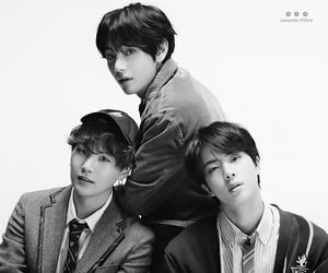 jin, v, and bts image