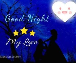 good night images, romantic good night pics, and good night for boyfriend image