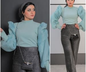 elegant hijab outfit image