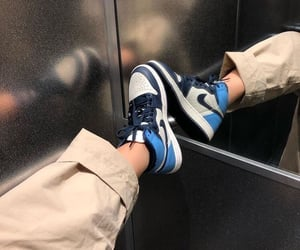 sneakers, fashion, and nike image