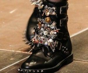 boot, runway, and fashion image
