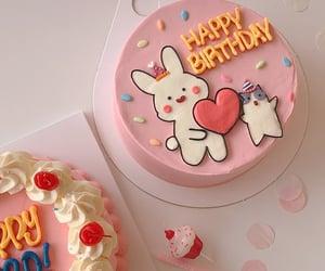 cake, dessert, and kawaii image
