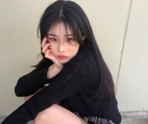 asian fashion, cute girl, and street fashion image