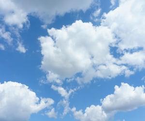sky clouds blue image