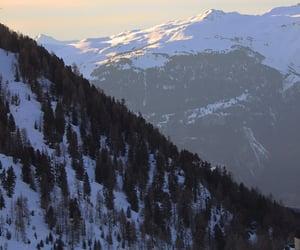 france, mountain, and ski image