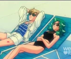 anime, sailor moon, and summer image