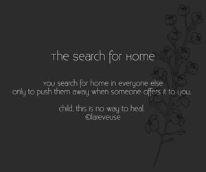 flowers, home, and poetry image