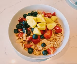berries, cafe, and fitness image