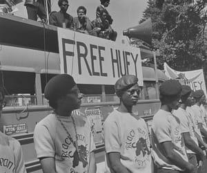 oakland, calif, and free huey rally bus image