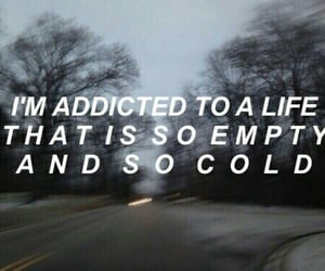 quotes, cold, and empty image