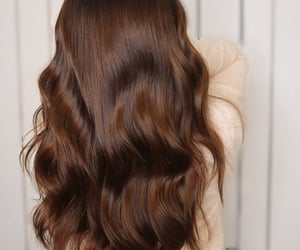 hair, beauty, and girl image