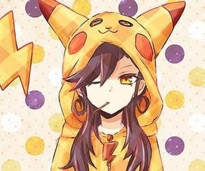 anime, anime girl, and lollipop image