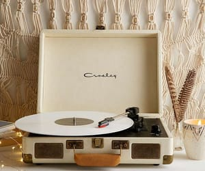 vintage, music, and record player image