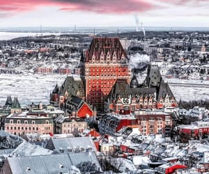 canada, places, and quebec city image