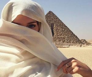 girl, egypt, and travel image