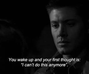 sad, supernatural, and quotes image