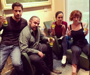 alice braga, peter gadiot, and kelly anne image