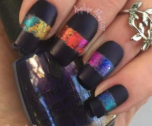 foil, rainbow, and matte image