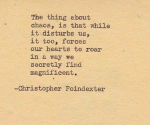 quotes, chaos, and words image