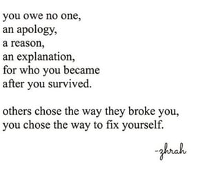 apology, be proud, and broke image